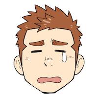 一輝アイコン泣き小